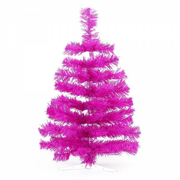 Jahreszeitendeko - Künstlicher Weihnachtsbaum farbiger Tannenbaum purple Höhe 60 cm  - Onlineshop Hab und Gut Design
