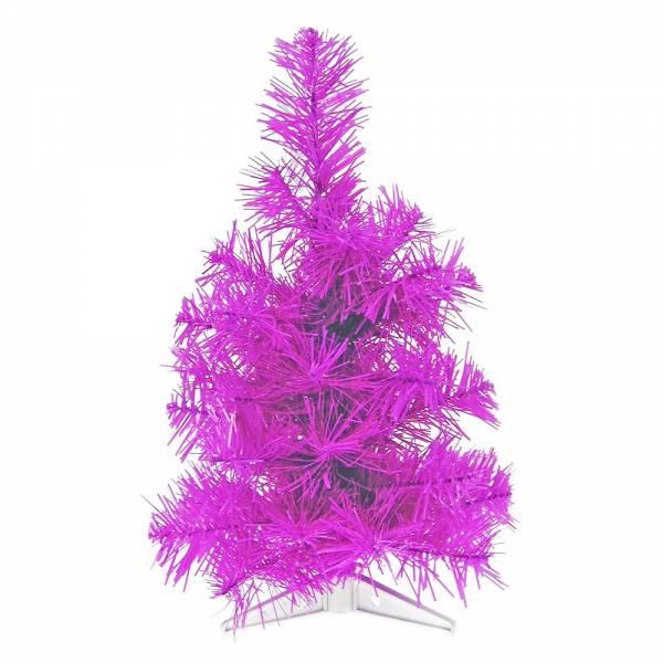 Jahreszeitendeko - Künstlicher Weihnachtsbaum farbiger Tannenbaum purple Höhe 30 cm  - Onlineshop Hab und Gut Design