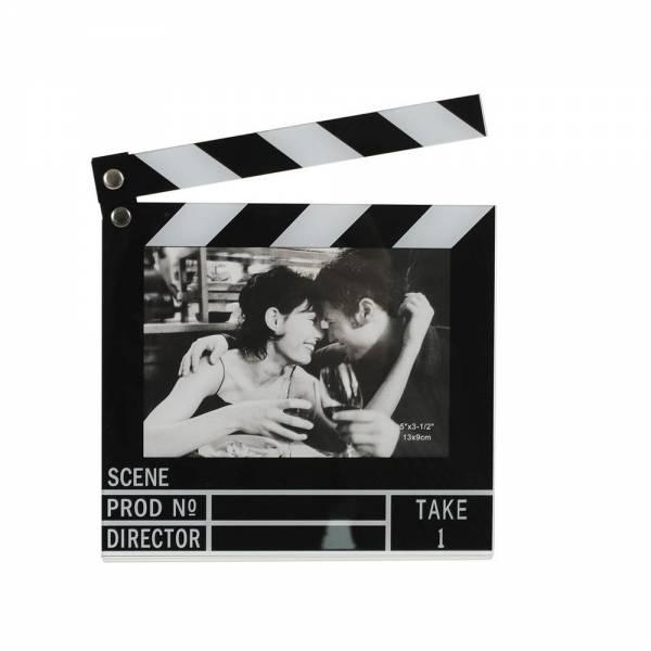 Bilder und Rahmen - Bilderrahmen FILMKLAPPE beweglich für Fotos im Format 13 x 9 cm  - Onlineshop Hab und Gut Design