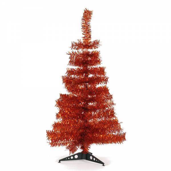 Jahreszeitendeko - Künstlicher Weihnachtsbaum farbiger Tannenbaum kupfer Höhe 90 cm  - Onlineshop Hab und Gut Design