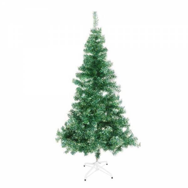 Jahreszeitendeko - Künstlicher Weihnachtsbaum farbiger Tannenbaum hellblauapfelgrün metallic Höhe 180 cm  - Onlineshop Hab und Gut Design
