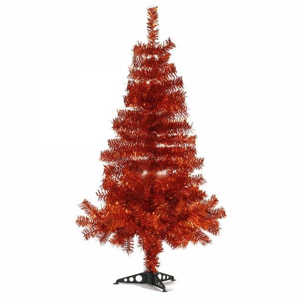 Jahreszeitendeko - Künstlicher Weihnachtsbaum farbiger Tannenbaum kupfer Höhe 120 cm  - Onlineshop Hab und Gut Design