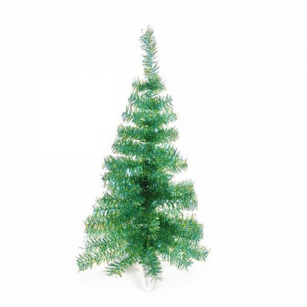 Jahreszeitendeko - Künstlicher Weihnachtsbaum farbiger Tannenbaum hellblauapfelgrün metallic Höhe 120 cm  - Onlineshop Hab und Gut Design