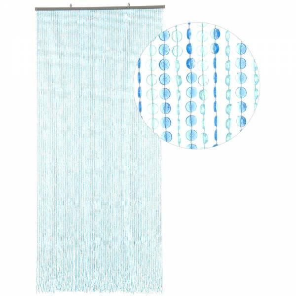 Gardinen und Vorhänge - Türvorhang Form MINI DIAMANTEN Farbe HELLBLAU BLAU Material Kunststoff Größe 90 x 200 cm  - Onlineshop Hab und Gut Design