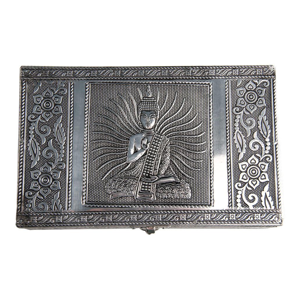 verschiedene Designs HAB /& GUT Schmuckbox aus Aluminium 20 x 12 x 6 cm
