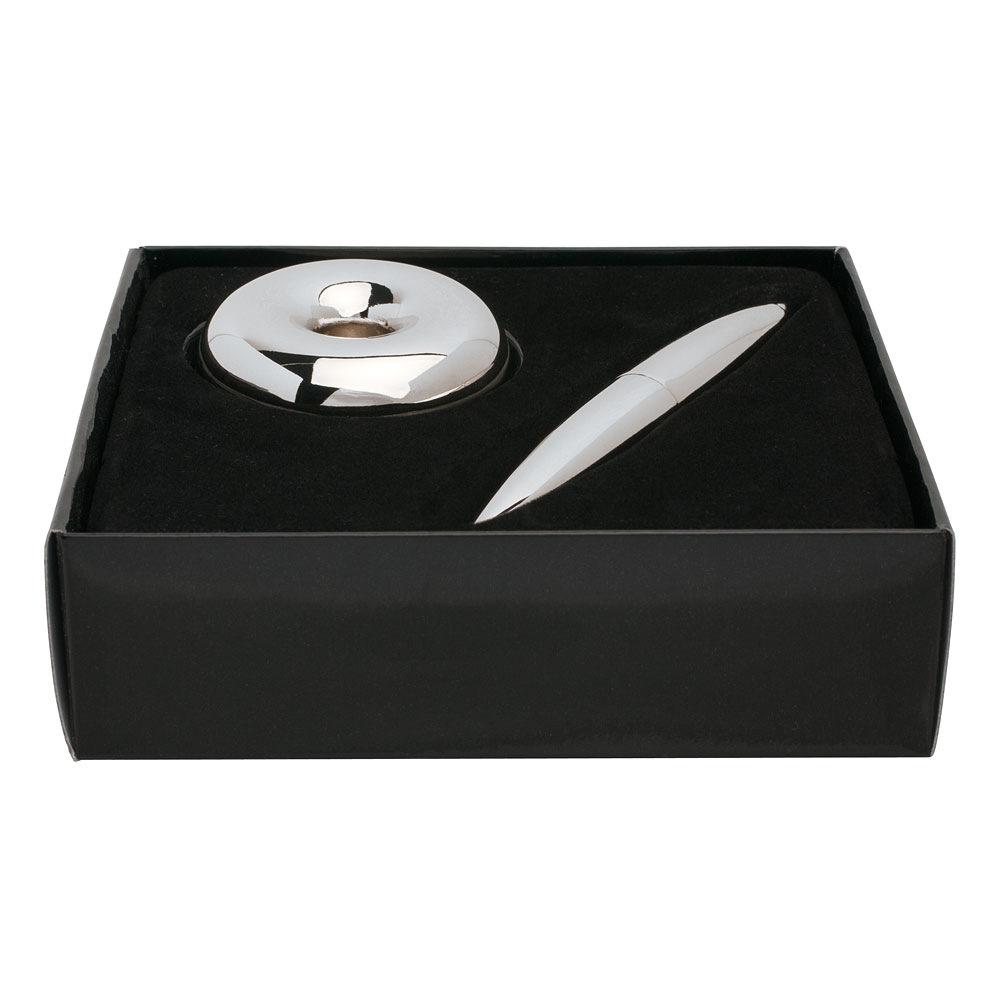 hab gut fp00v magnet kugelschreiber chrom l nge 11 5. Black Bedroom Furniture Sets. Home Design Ideas